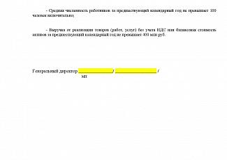 Декларация О Принадлежности К Смп По 44 Фз Образец - фото 4